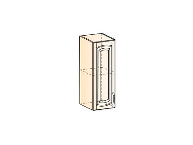 Бергамо Шкаф навесной L200 H720 (1 дв. гл.)