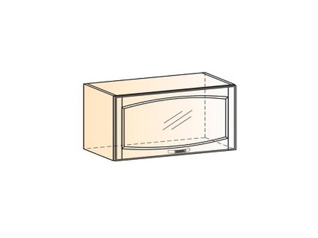 Бергамо Шкаф навесной L800 H360 (1 дв. рам.)