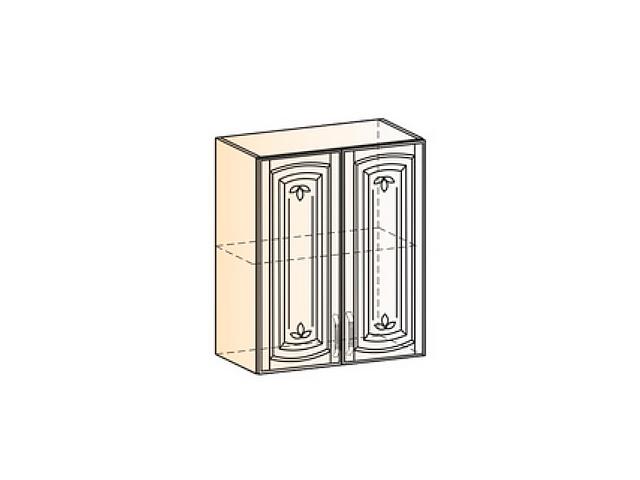 Бергамо Шкаф навесной L600 H720 (2 дв. гл.)