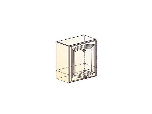 Бергамо Шкаф навесной под вытяжку L600 Н566 (1 дв. гл.)