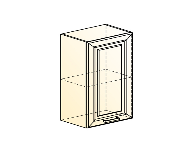 Шкаф навесной L600 Н720 (1 дв. гл.)