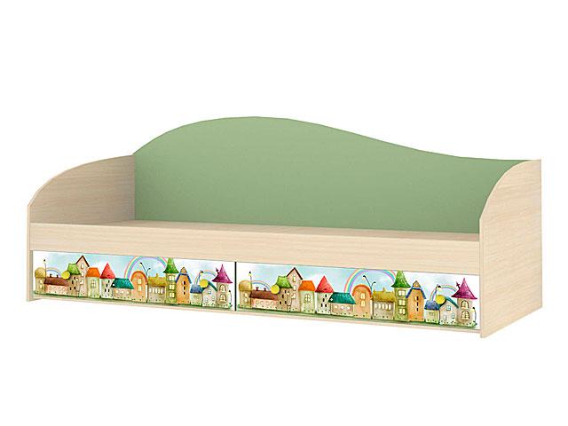 . Мод.6 Кровать одинарная б/орт.