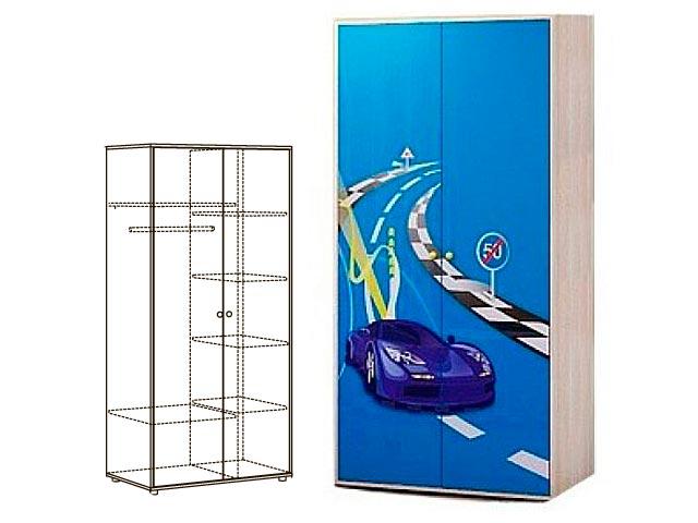 Мод.2 Шкаф 2-х дверн. для одежды