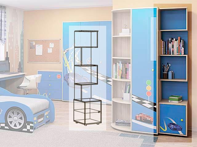 Мод.13 Шкаф-стеллаж