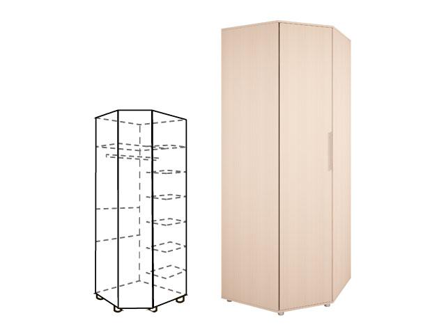 Мод 17. Шкаф угловой для одежды