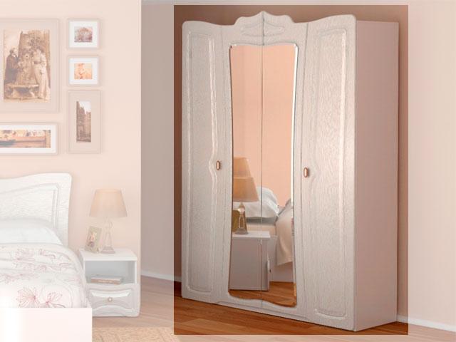 №1 Шкаф для одежды с зеркалом