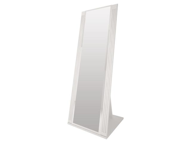 . №8 Зеркало напольное (белое).