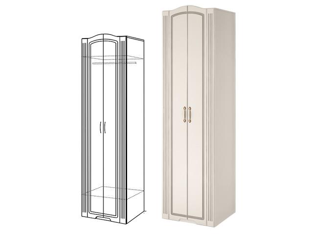 . №16 Шкаф для одежды (белый).