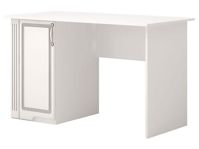. №34 Письменный стол (белый).
