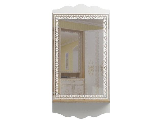 мод.33 Зеркало настенное с полкой