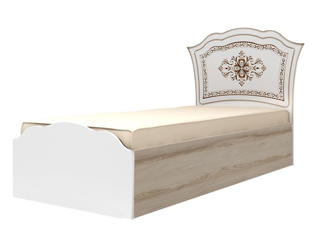 мод.23 Кровать одинарная на 900мм (латы)