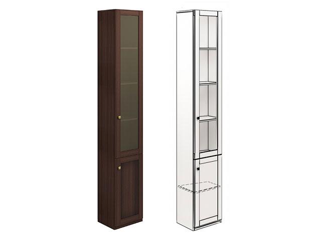 мод.25 Шкаф для книг угловой (правый)
