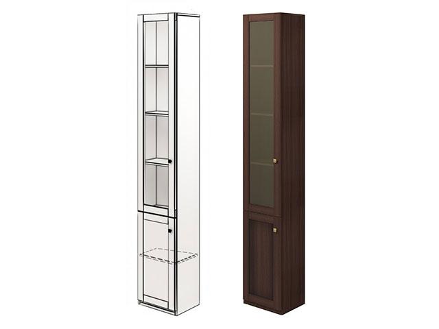 мод.24 Шкаф для книг угловой (левый)