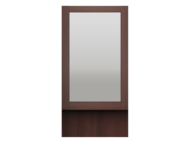 мод.43 Зеркало настенное с полкой
