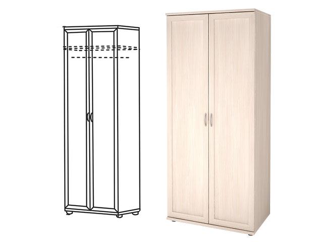 . Мод.21Р, Шкаф для одежды двухдверный.