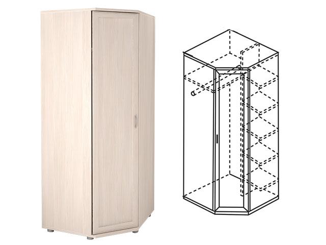 . Мод.30Р, Шкаф угловой для одежды.