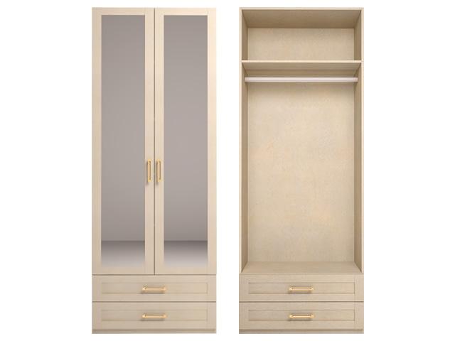 . мод.1 Шкаф для одежды с зеркалом.