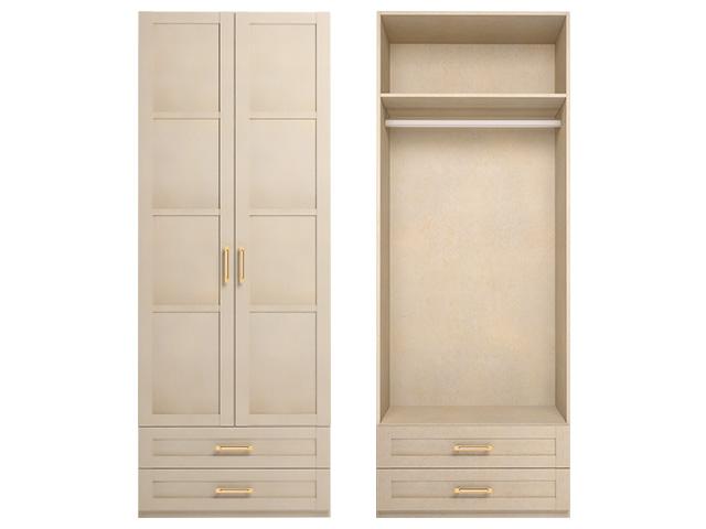 . мод.1 Шкаф для одежды без зеркала.