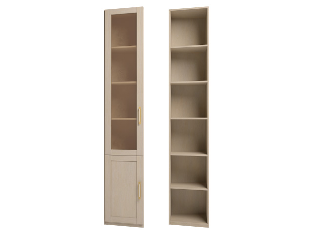 . мод.24 Шкаф для книг угловой (левый).