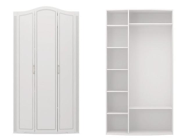 №9 Шкаф для одежды (белый)
