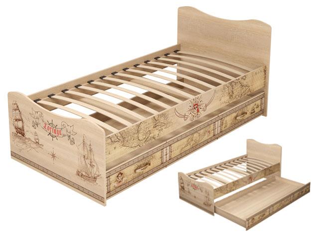 . 04 Кровать с ящиком.