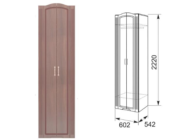 №16 Шкаф для одежды (тортона)