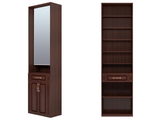 . №23 Шкаф комбинированный с зеркалом (тортона).