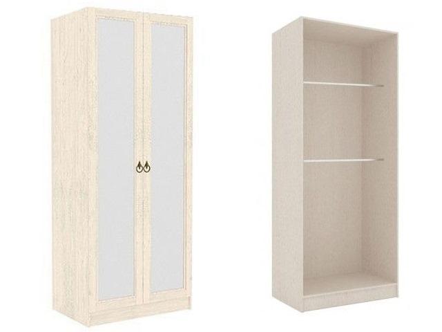 ЛД.642240.000 Шкаф высокий двухстворчатый (2 зеркала)