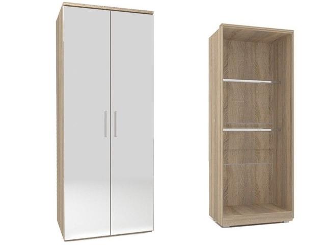 ЛД 631140.000 шкаф двустворчатый (2 зеркала)