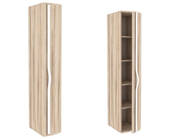 ЛД.636070.000 Шкаф-окончание с гнутой дверью правый