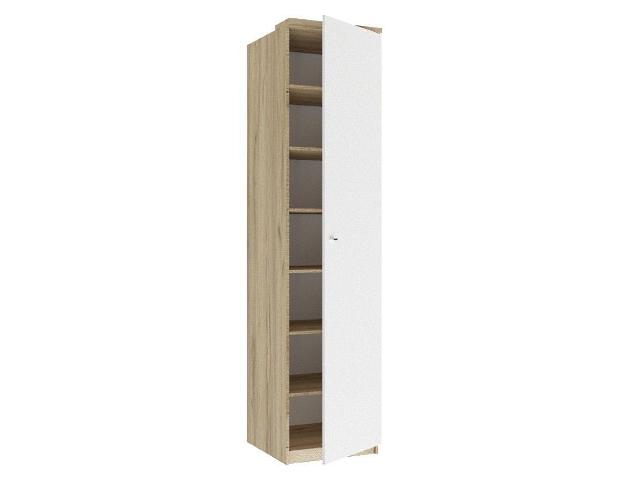 ЛД.659220.000 Шкаф одностворчатый (глухой) Белый