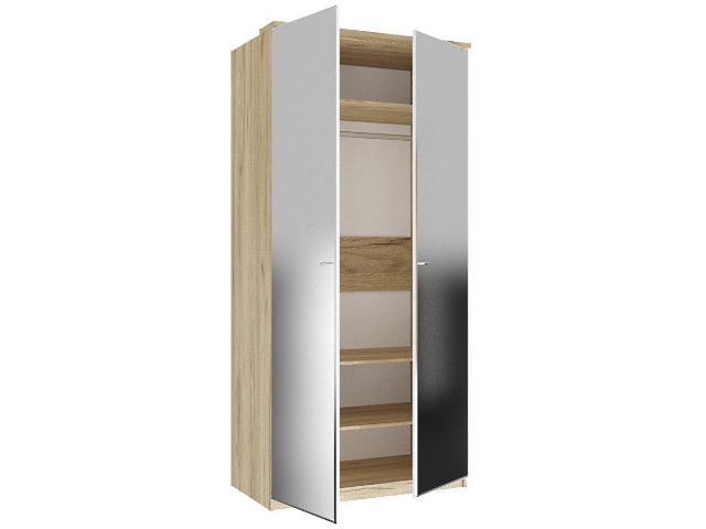 ЛД.659230.000 Шкаф двухстворчатый (2 зеркала)