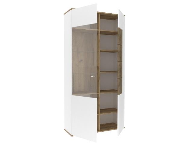 ЛД.659010.000 Шкаф двухстворчатый правый Белый
