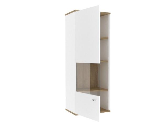 ЛД.659020.000 Шкаф навесной левый Белый