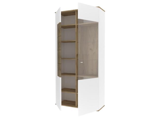 ЛД.659110.000 Шкаф двухстворчатый левый Белый