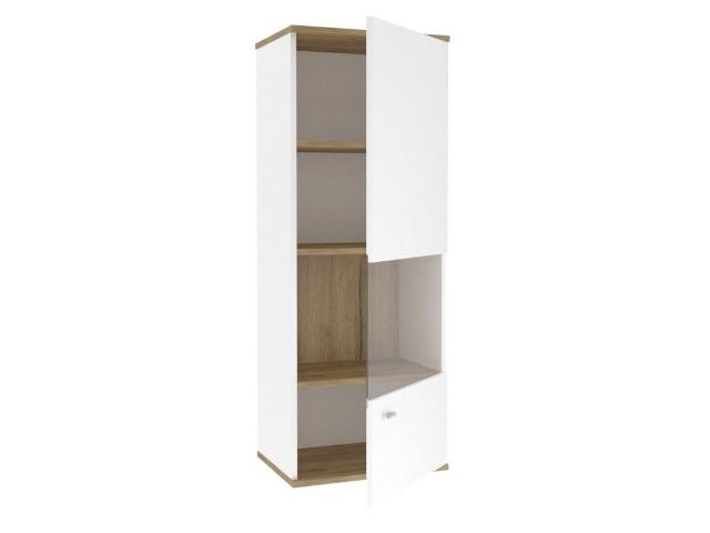 ЛД.659120.000 Шкаф навесной правый Белый