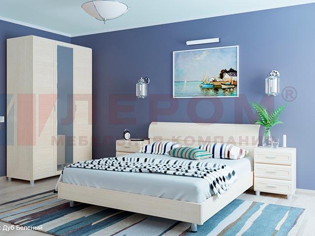 Спальня МК-805 дуб беленный