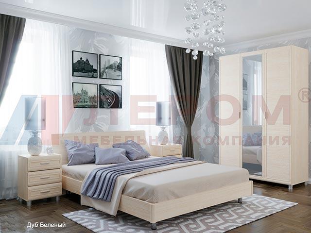 Спальня МК-806 дуб беленный