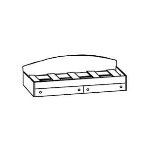 """. Кровать с 2-мя Ящиками """"Тони""""."""