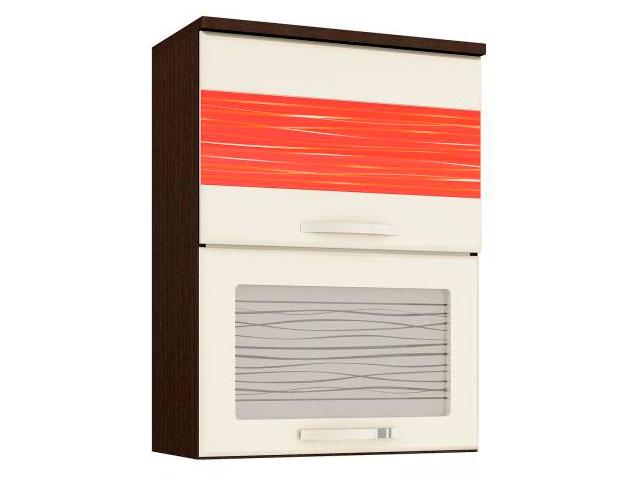 Шкаф-витрина 09.80.1 (с сист. плав. закр.)