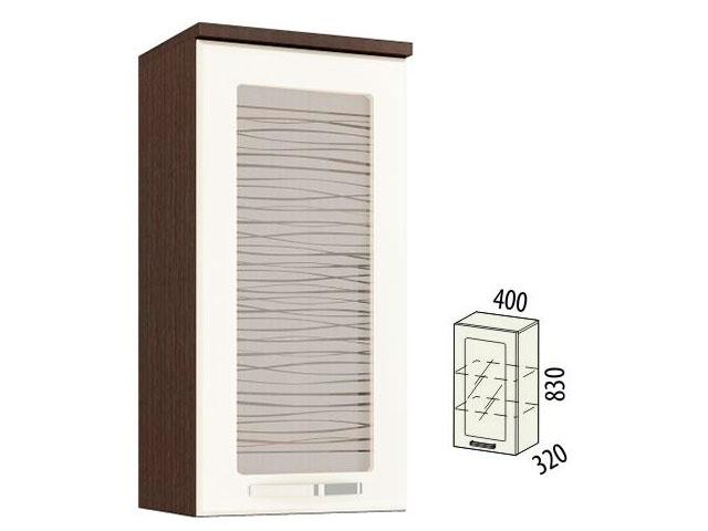 Шкаф-витрина левый 09.04