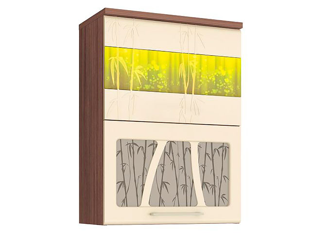 Шкаф-витрина (с сист. плав. закр. дверей) 17.80