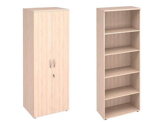 Шкаф 5 секций + двери с замком