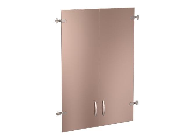 Двери стеклянные 3 секции 61/62.38