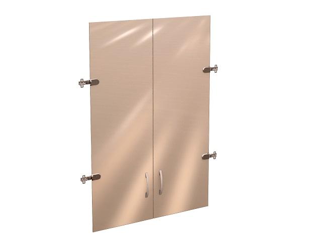 Двери стеклянные 3 секции 41/42.38