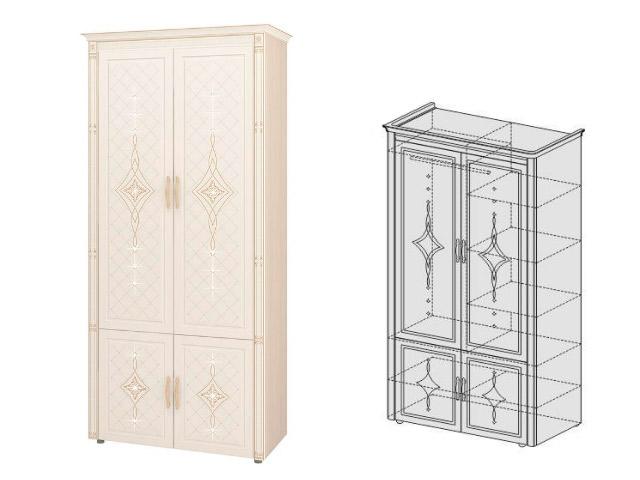 Шкаф для одежды МФЦ 32.22