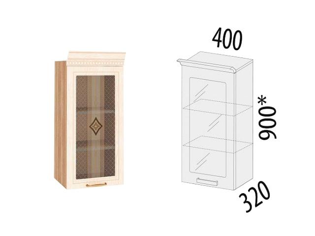 Шкаф-витрина (правый,левый) 73.04