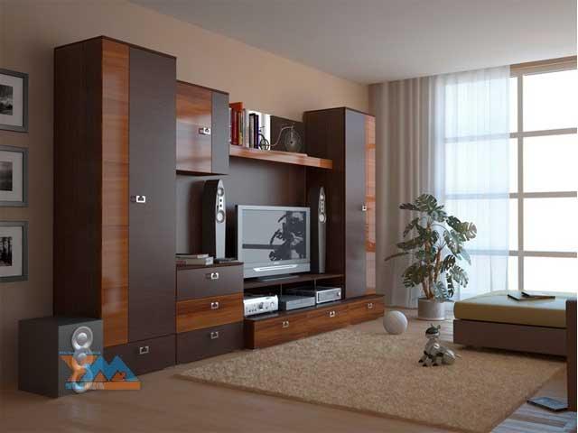 Шкаф стенка в гостиную фото