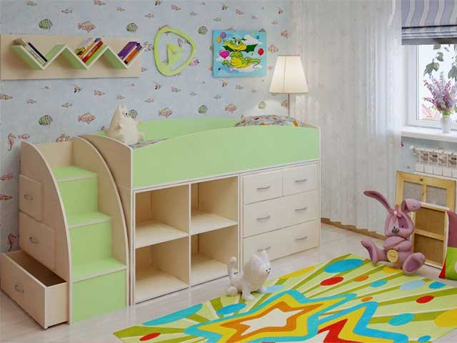 Спальный уголок детский