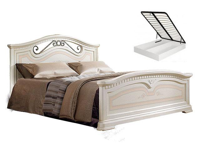. Кровать 1600 с двумя спинками с под/мех. (АНКР-3[3]).